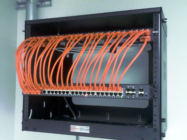 Small Structured Cable Installation