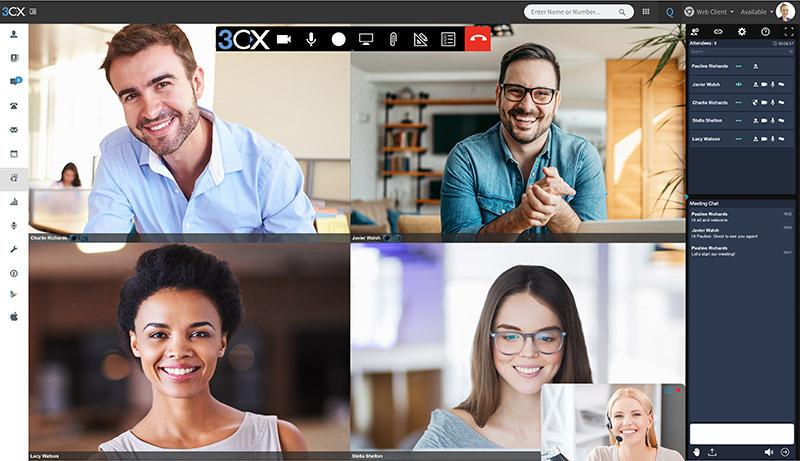 3CX Telephones Webmeeting