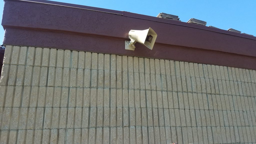 Paging and Music Systems Outdoor Speaker